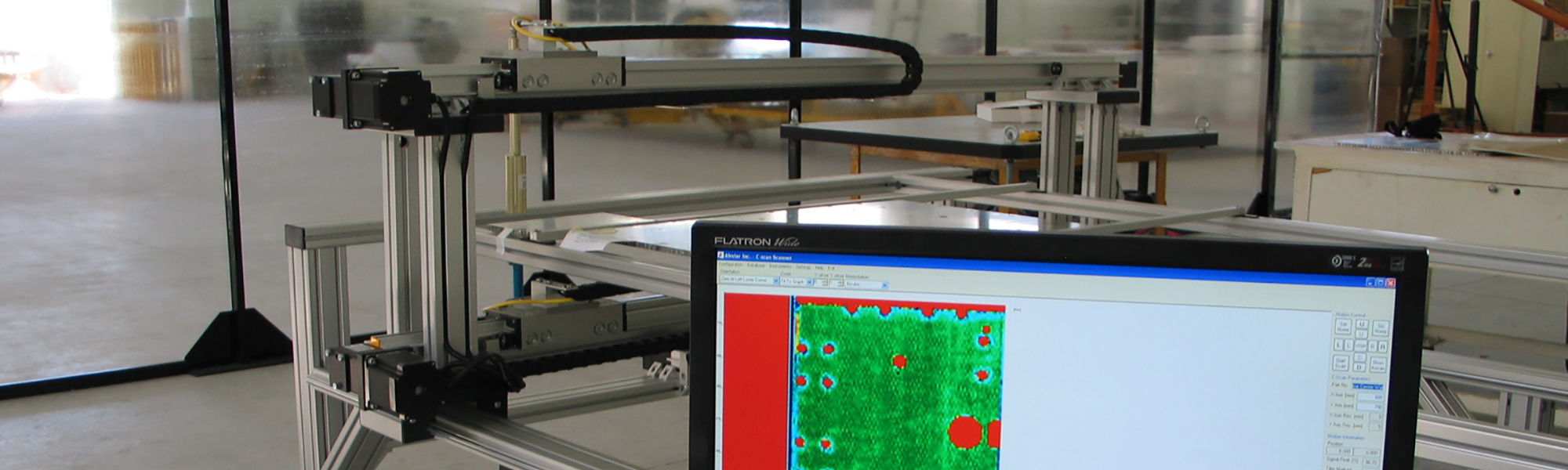 C-SCAN systems for composite materials